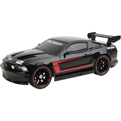 New Bright Ford Mustang Boss Radio-Controlled Vehicle, Black