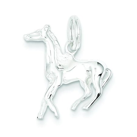 Sterling Silver Animal Charms - Sterling Silver Horse Charm Jewelry Animal Jewelry