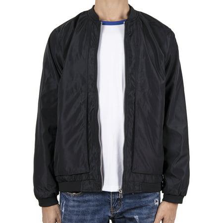 LELINTA Men's Winter Jacket Waterproof Outdoor Sport Jacket Cargo Pockets Outerwear, Up to Size 4XL Black