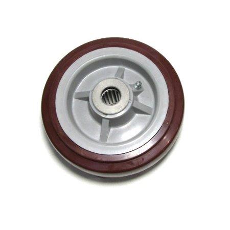 600 Wheels 6 Inch Casters (Maroon Polyurethane 6