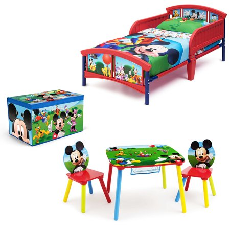 Disney Mickey Mouse Room-in a Box with BONUS Table & Chairs Set
