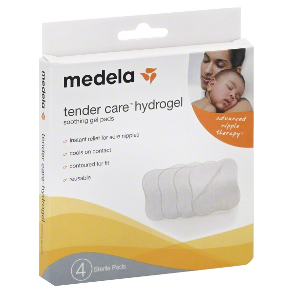 Medela Tender Care Hydrogel Pads, 4 pack