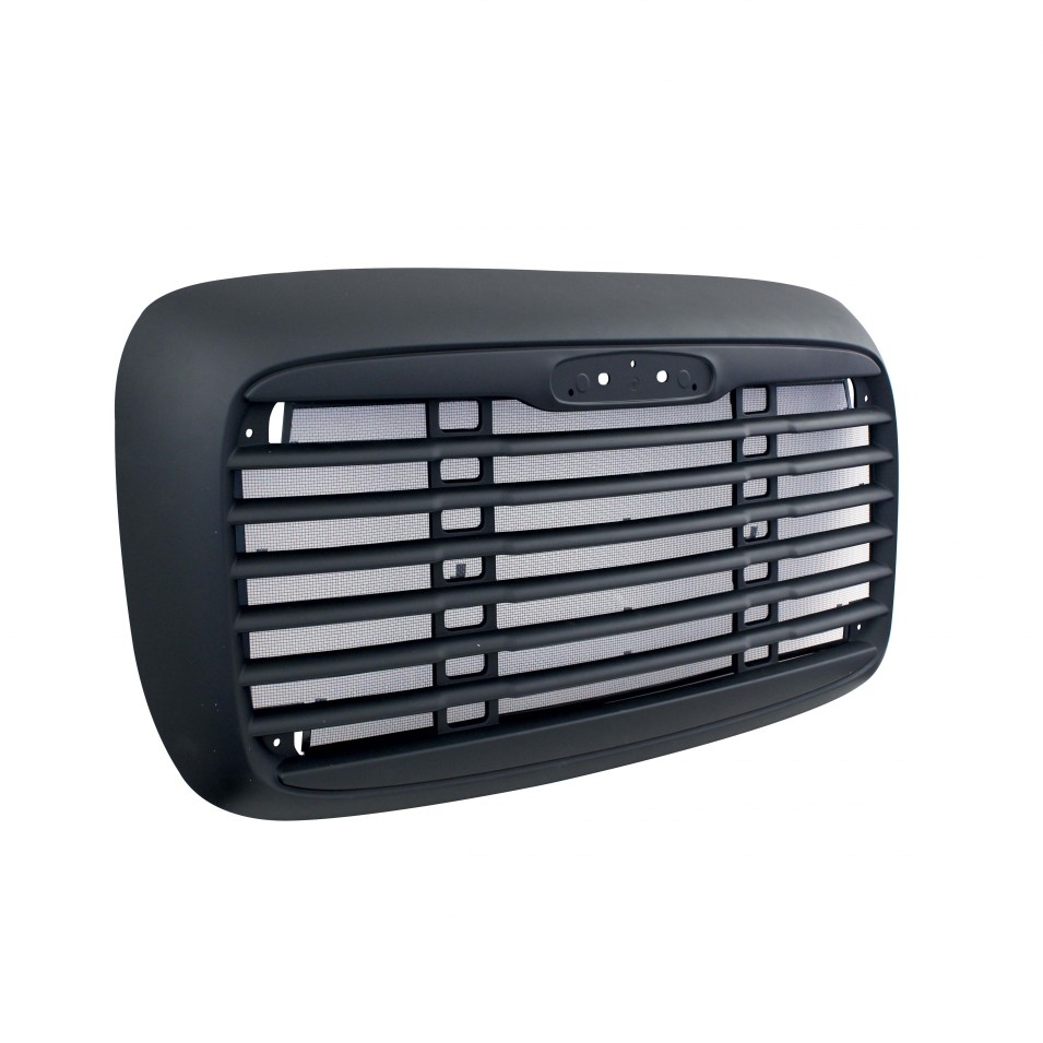 Black Freightliner Columbia Grill With Bug Screen