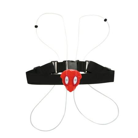Illuminated Reflective Vest Belt Fiber Optics LED Lights Adjustable Safety Gear Outdoor Sports Running Cyling Vest for Childre Men -