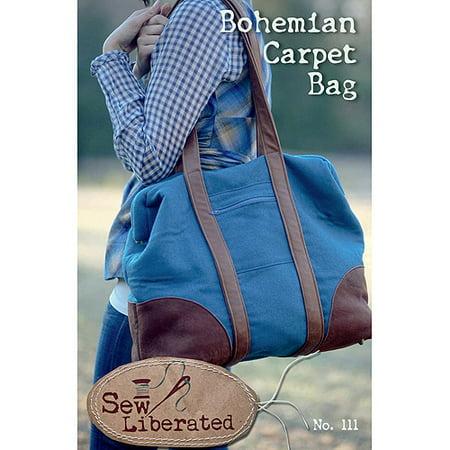 Sew Liberated Patterns-Bohemian Carpet Bag - Walmart.com
