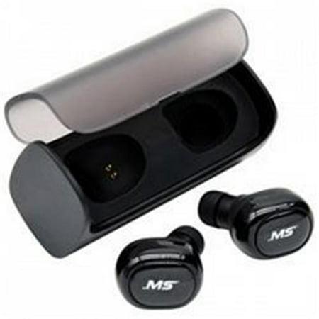 MobileSpec MBS11200 Ecouteurs st-r-o sans fil True avec -tui de charge - Noir - image 1 de 1