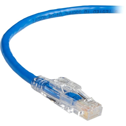 5FT CAT6 BLUE STRANDED LOCKABLE PATCH CABLE 550MHZ