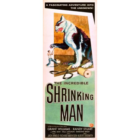 Incredible Shrinking Man The 14X36 Insert Movie Poster