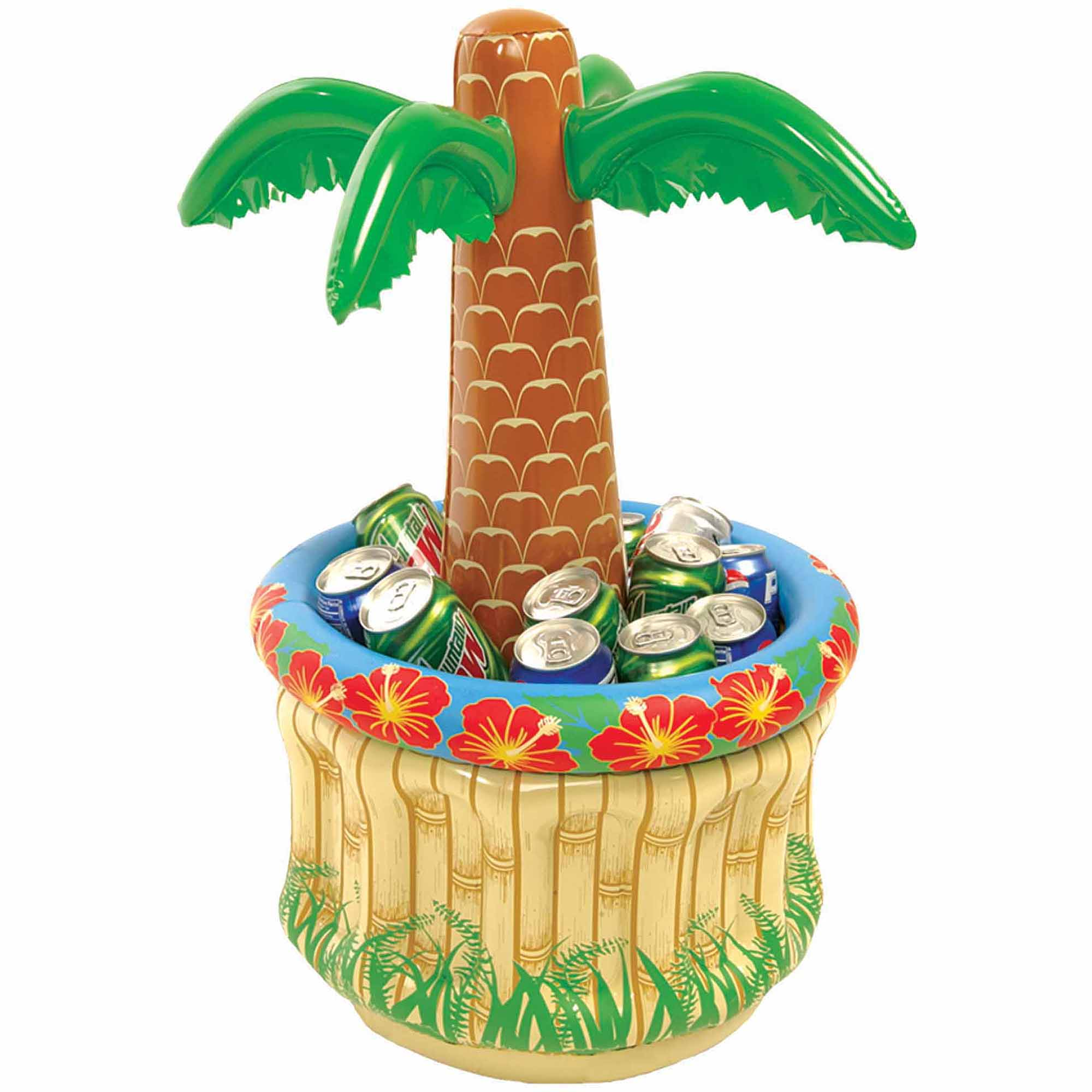 Inflatable Palm Tree Table Cooler  Halloween Inflatable Decoration