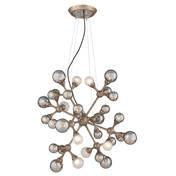 (Corbett Lighting 206-432 Element 32 Light Medium Pendant in Vienna Bronze,)