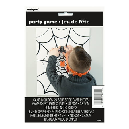 Spider Web Halloween Games (Spider Web Halloween Party Game for 24)