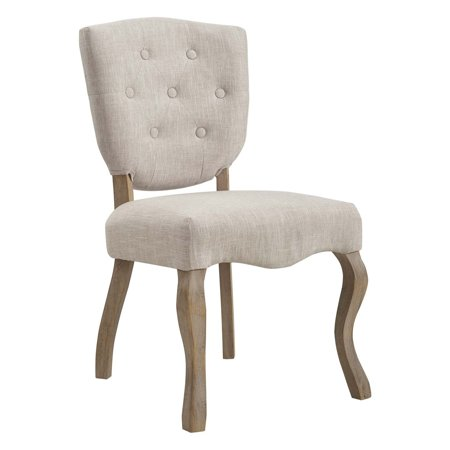 Modway Array Vintage French Upholstered Dining Side Chair, Multiple Colors ()