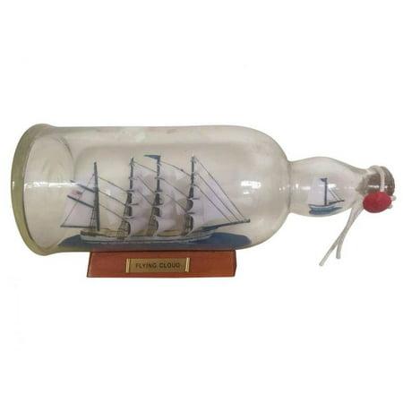 - Blue Flying Cloud Ship In A Bottle 11