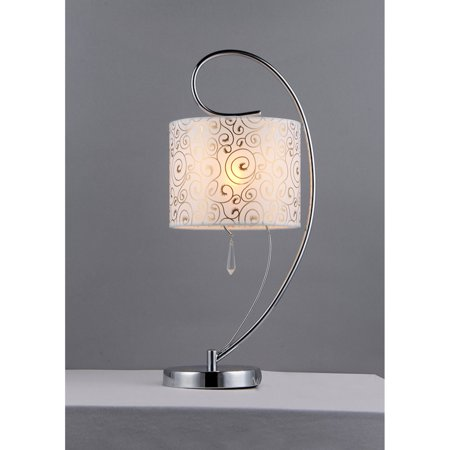Swirl Crystal Table Lamp ()