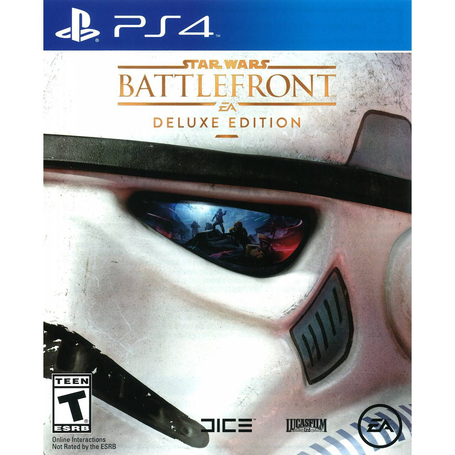 Star Wars Battlefront Deluxe Edition PS4 Walmart
