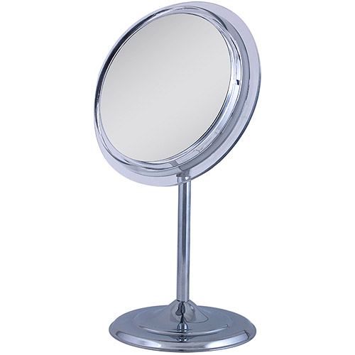 SA35 Zadro Surround Light Pedestal Vanity Mirror with 5x Magnification