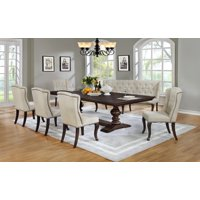 Best Quality Furniture Clasic Style 7pc Dining Set with Bench D35