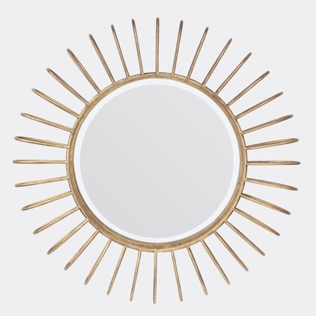Better Homes and Gardens Round Metal Decorative Wall Mirror 24