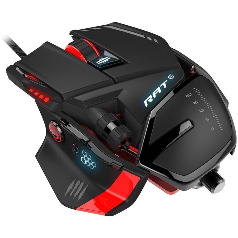 Mad Catz RAT 6 Wired Laser Mouse