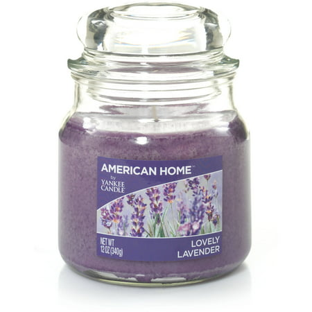 American Home by Yankee Candle Lovely Lavender, 12 oz Medium Jar