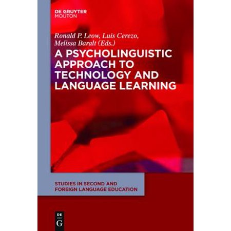 A Psycholinguistic Approach To Technology And Language border=