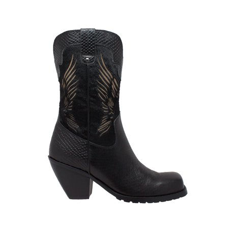 "Women's 11"" Laser Eagle Boot Black"
