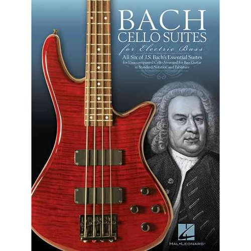 Bach Cello Suites for Electric Bass by