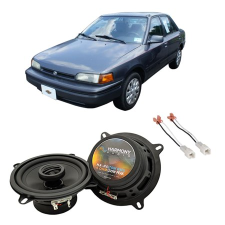 Fits Mazda Protege 1990-1994 Front Door Replacement Harmony HA-R5 Speakers New