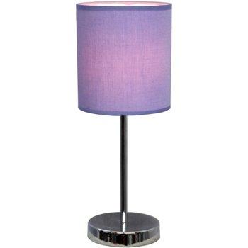 Simple Designs LT2007-PRP Mini Basic Table Lamp