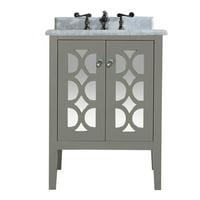 Mediterraneo - 24 - Grey Cabinet + White Stripes Counter