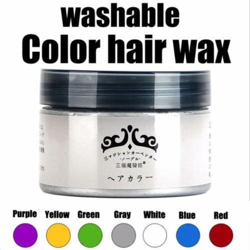 Hair Wax Temporary Hair Coloring Styling Cream Mud Dye