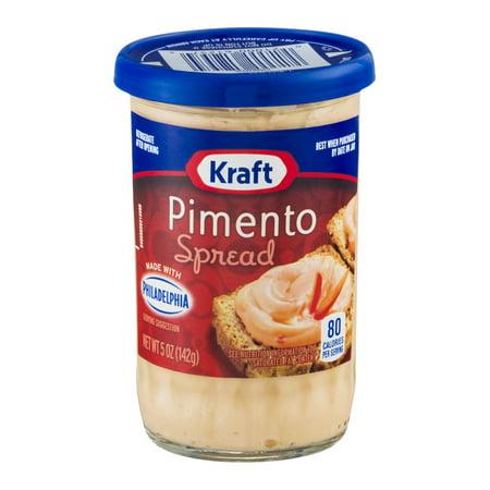 Kraft Cheese Spreads Pimento Cheese Spread, 5 oz - Walmart.com