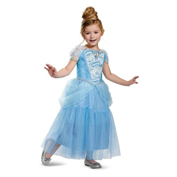 disney cinderella deluxe sparkle toddler halloween costume size 3t 4t walmart com walmart com disney cinderella deluxe sparkle toddler halloween costume size 3t 4t