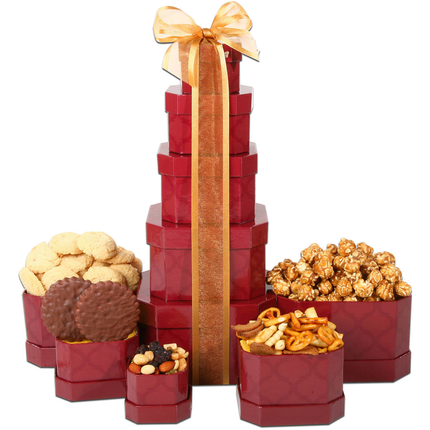 Alder Creek Gift Baskets Executive Gift Tower, 5 pc