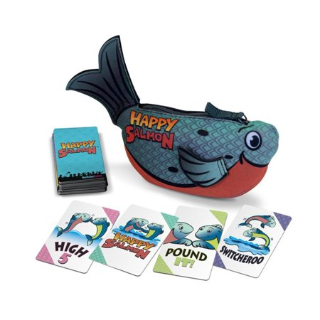 Happy Salmon Blue Fish by North Star Games | Fast Paced Family Card Game, If you thought Happy Salmon was fast-paced and packed to the gills with.., By Stoneblade Entertainment](Hot Pink Games)