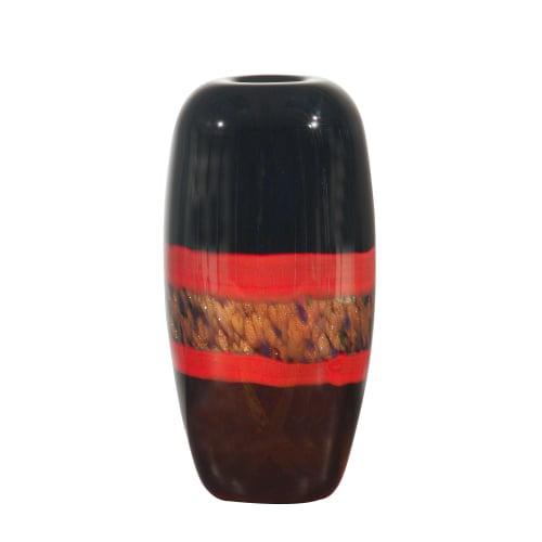 Dale Tiffany PG60112 Retro Ebony Vase