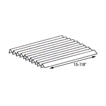 BBQ Grill Weber Grill Heat Plate 11-Pack Stainless Steel Flavorizer Bar Set 15 7/8