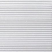 WFX Utility Cyrus 6' x 1' White Ribbed Shelf Liner