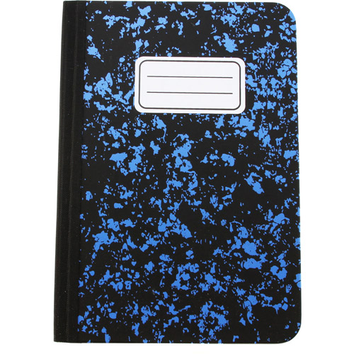 FileMate TC450 Composition Book Folio Case for iPad mini, Blue and Black