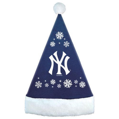 Topperscott Snowflake Santa Hat New York Yankees