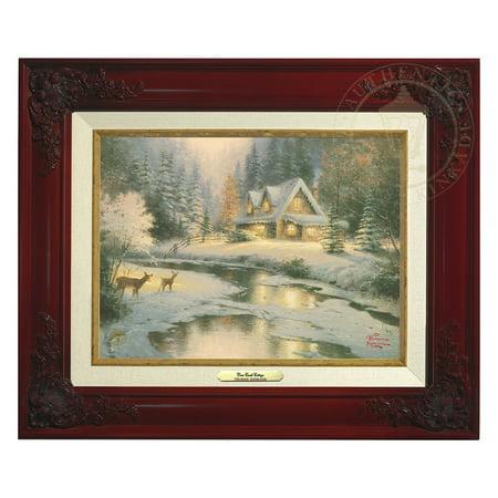 Thomas Kinkade Deer Creek Cottage - Canvas Classic (Brandy (Thomas Kinkade Oil Painting)