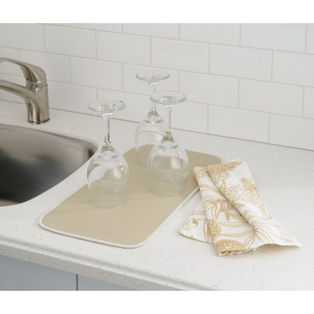 "iDry Kitchen Mat Solid, Mini, 18"" x 9"