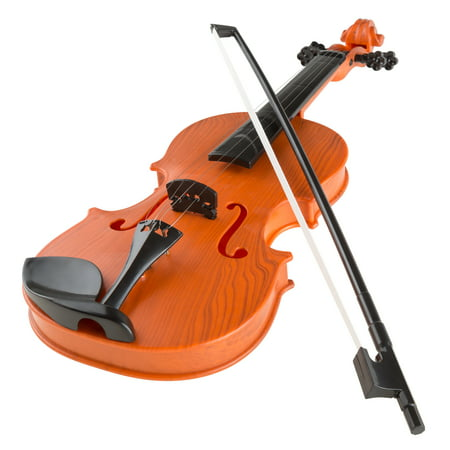 Kid's Toy Violin with 4 Adjustable Strings and Bow - Musical Sounds- Realistic-Looking Instrument for Learning Classical Music by Hey! Play!](Halloween Musical Chairs Music)