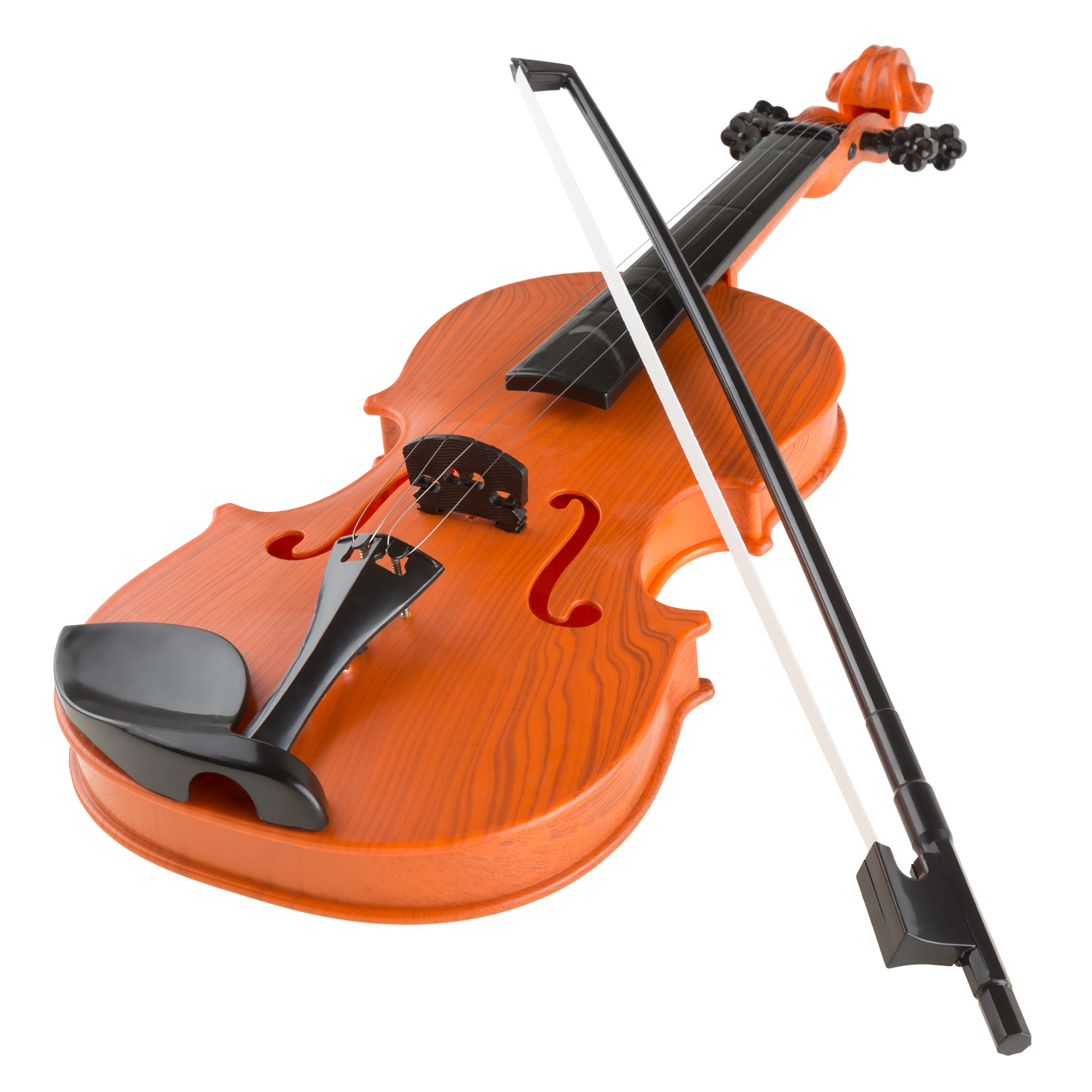 Musical Toy Violin with Bow Battery-operated by Hey! Play!