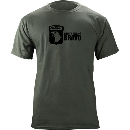 Army 101st Airborne 31 Bravo Military Police T-Shirt