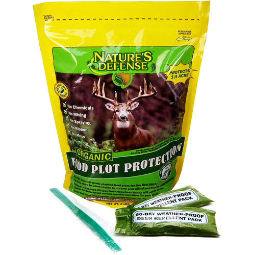 Bird-X Nature's Defense 60-Day Organic Deer Repellent Kit