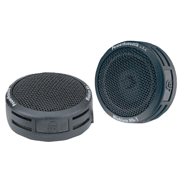 Brand New POWER ACOUSTIK NB-1 200-Watt 2-Way Mount Tweeters