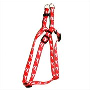 Yellow Dog Design SI-RP104XL Reindeer Print Step-In Harness - Extra Large