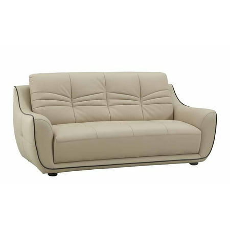 36 Elegant Beige Leather Sofa