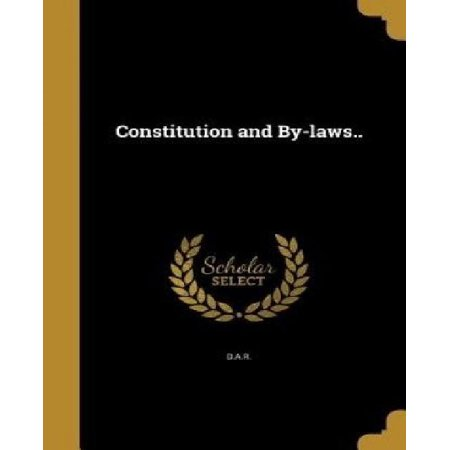Constitution and By-Laws.. - image 1 de 1